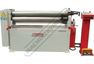 PR-134A Motorised Plate Curving Rolls 1300 x 4.0mm Mild Steel Capacity Motorised Up/Down Rear Roll,