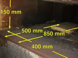 Gas Heat Treatment Oven Furnace Blacksmiths Forge  - picture1' - Click to enlarge