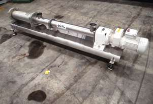 Helical Rotor Pump - In: 75mm Out: 75mm.