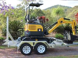 NEW Carter CT16 with Trailer Mini Excavator