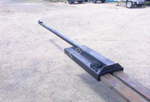 Custom Made Forklift jib attachment