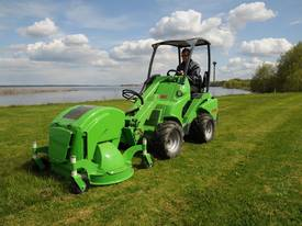 Avant 1200mm Collecting Lawn Mower for Mini Loader - picture1' - Click to enlarge