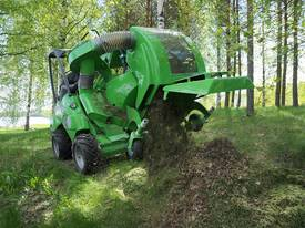Avant 1200mm Collecting Lawn Mower for Mini Loader - picture3' - Click to enlarge