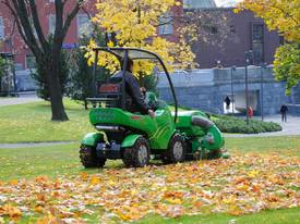 Avant 1200mm Collecting Lawn Mower for Mini Loader - picture5' - Click to enlarge