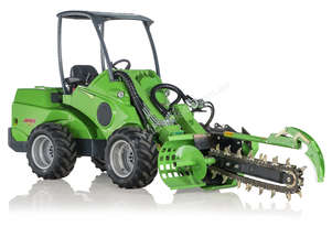 Avant Hydraulic Chain Trencher Mini Loader