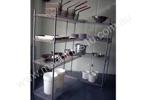 Or  coolroom shelving