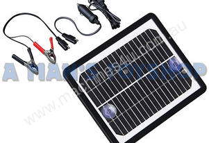 SOLAR POWER 6 WATT 12 VOLT USB TRICKLE