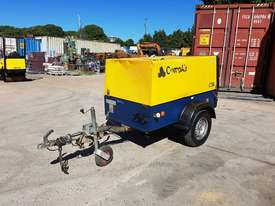 Compair C50 diesel 176 cfm compressors on heavy duty trailer chassis - picture3' - Click to enlarge