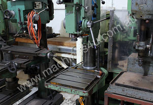 Caber model 67 geared head drilling machine