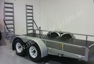 Positive Quality Trailer 14ft Plant Trailer 4.5ton