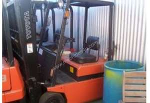 Toyota Used Electric   Forklift