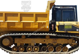 CAT Rubber Tracked Crawler Dump Truck