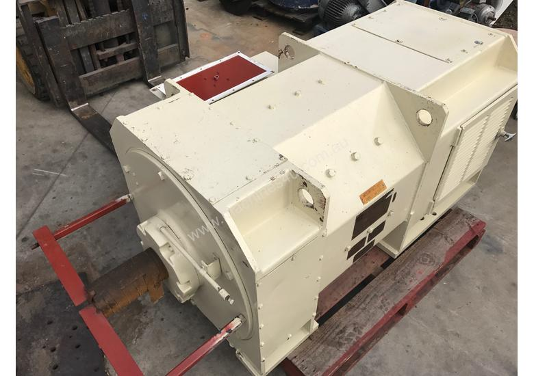 Used 1987 toshiba 450 kw 600 hp toshiba dc electric motor for 450 hp electric motor