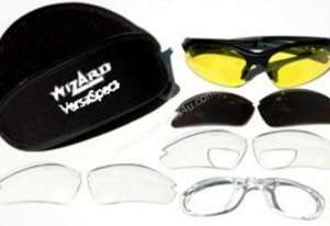 Safety Glasses with interchangeable lens