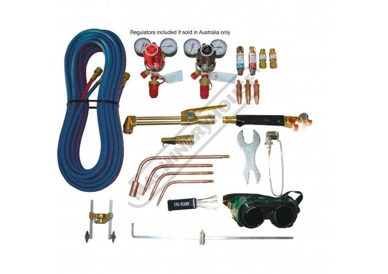 KKOXY1 Uni-Flame Oxy Acetylene Gas Cutting & Welding Kit