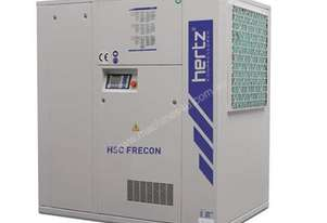 HERTZ 37kW / 205cfm Rotary Screw Air Compressor, 10bar