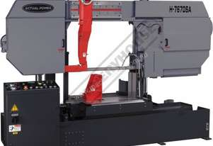 H-7670SA Semi Automatic Double Column Heavy Duty Band Saw 760 x 700mm (W x H) Square Capacity