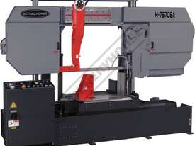H-7670SA Semi Automatic Double Column Heavy Duty Band Saw 760 x 700mm (W x H) Square Capacity - picture0' - Click to enlarge