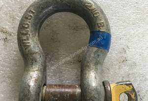 Bow D Shackle 6.5 Ton BJ 33 Lifting Shackles Crane Rigging Equipment