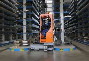 HUBTEX Electric Multidirectional Forklifts - MQ Series
