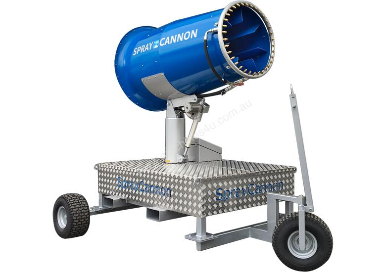 MB DUSTCONTROL SPRAY CANNONS - RENT-TRY-BUY