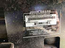 John Deere D105 Standard Ride On Lawn Equipment - picture1' - Click to enlarge