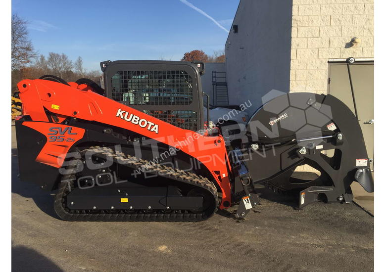New 2018 bradco Skid Steer Rock Saws suit Kubota SVL95 CAT