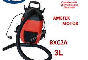 TCS NEW Commercial Dry Backpack Vacuum Cleaner Ametek Motor 1000W 3L