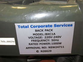 TCS NEW Commercial Dry Backpack Vacuum Cleaner Ametek Motor 1000W 3L - picture3' - Click to enlarge