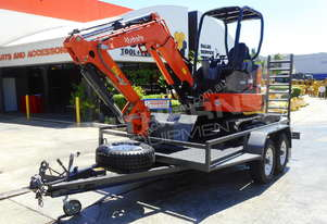 U35 3.2 Ton Mini Excavator with 4.5 Ton Plant Trailer MACHEXC