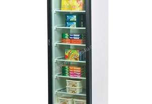 Bromic UF0374S-LED Flat Glass Door 300L LED Display Freezer