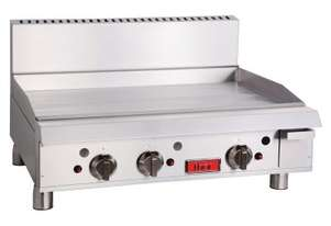 Thor Gas Griddle 36`` manual control with flame failure- LPG