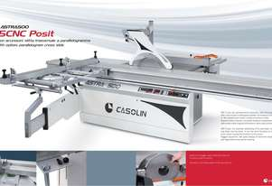 casolin panel saw with powered ripfence