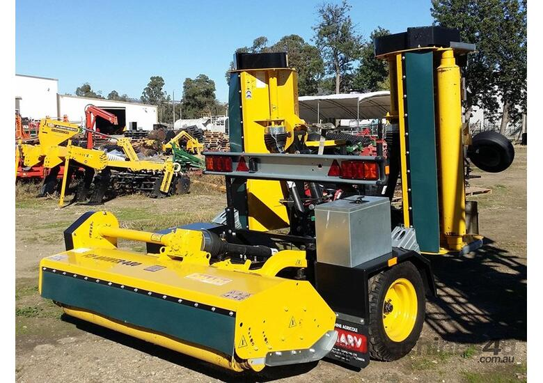 2018 OMARV BOLOGNA 480 TRAILING FOLDING FLAIL MULCHER 4 4M CUT