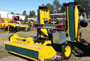 2018 OMARV BOLOGNA 480 TRAILING FOLDING FLAIL MULCHER (4.4M CUT)
