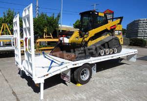 9 Ton Tag Trailer + CAT 297D Track loader ATTTAG