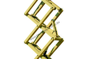 9.5m Electric Scissor Lifts available for Hire