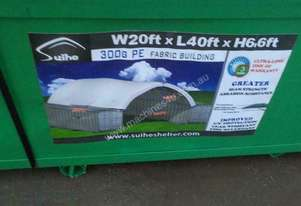 C2040-PVC 6.0m x 12.0m Single Trussed Container Shelter-6452-34