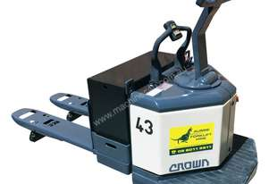 Crown 3T Powered Electric Pallet Mover HIRE from $155pw + GST