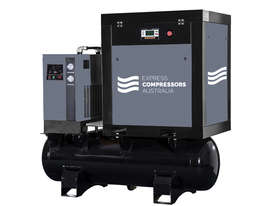 Screw Compressor 7hp (5.5kW) With tank and dryer - picture0' - Click to enlarge