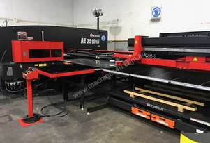Amada 20 tonne Electric Punch with Automatic Load/Unload (Only 1.5 yrs old)