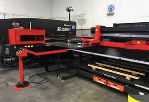 Amada - Electric Turret Punch with Automation (Only 2 yrs old) **INCLUDES FREE DELIVERY & TOOLING**