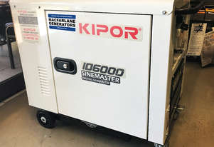 5.5kVA Kipor Inverter Generator on wheels