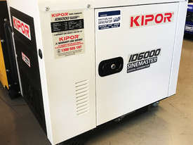 5.5kVA Kipor Inverter Generator plus ATS up to 125 Amp - picture2' - Click to enlarge