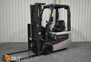 Nissan A1N1L18Q 1.8 Tonne Electric Forklift 4750mm Lift Height Low Hours