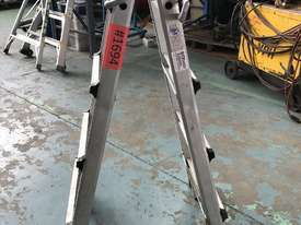 Mighty Max Telescopic Ladder Folding Aluminum 4.5 Meter 150 kgs SWL - picture1' - Click to enlarge