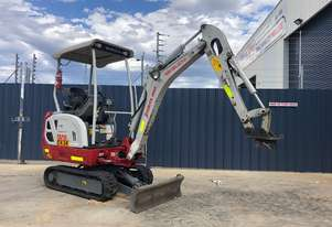 TAKEUCHI TB216 1.7T LOW HOUR, SITE SPEC MINI EXCAVATOR – 257