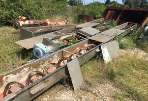 Spirac Shaftless Screw Conveyor 28m long