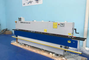 NikMann RTF-v40 heavy duty edgebander with corner rounder and pre-mill from Europe