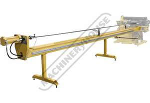 MB4X2-20 6096mm (20ft)  Mandrel Table Ø25.4mm Mandrel Rod Size Suits MB-4X2 Mandrel Tube Bender